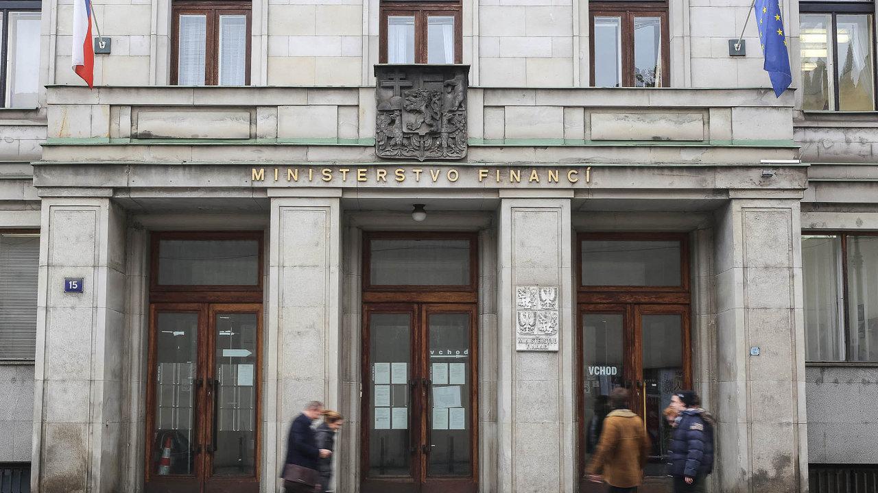 Ministerstvo financí.