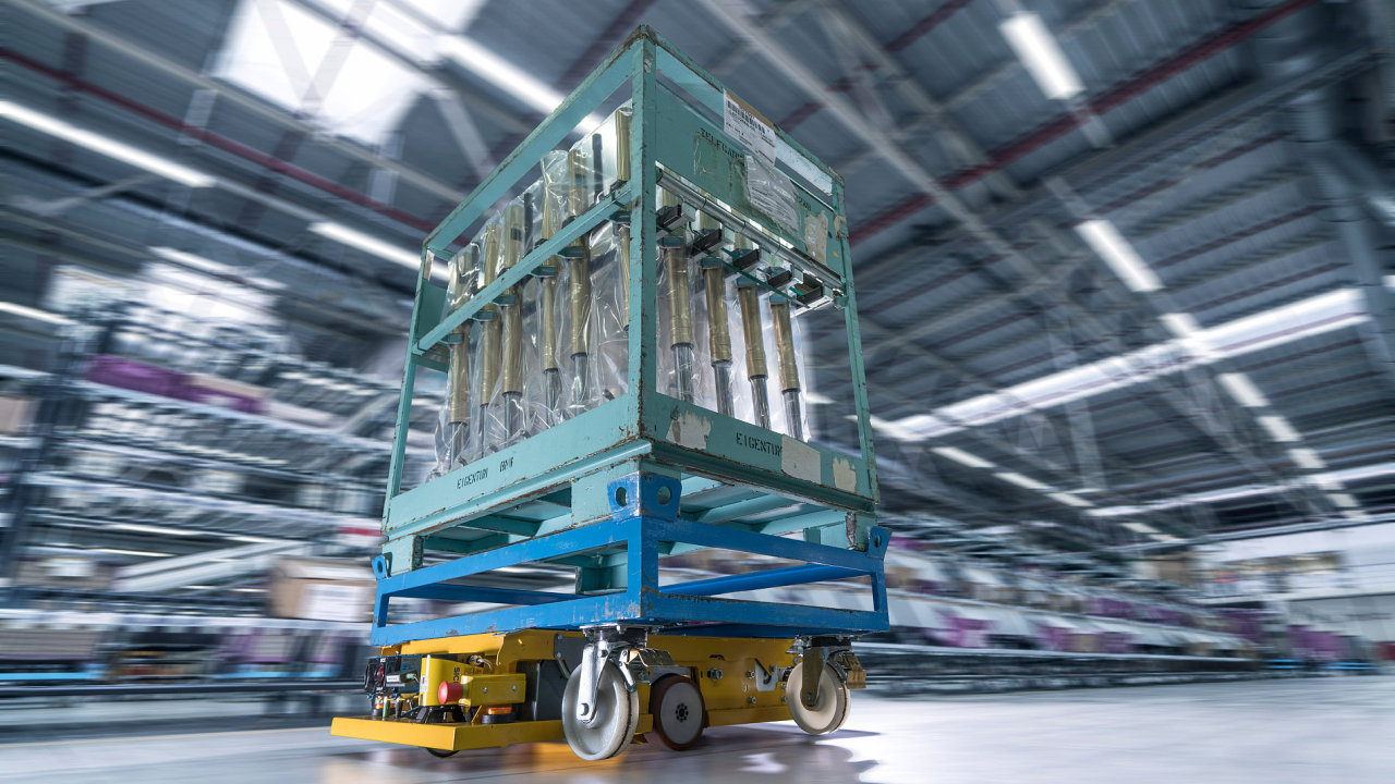 BMW představila několik nových logistických projektů