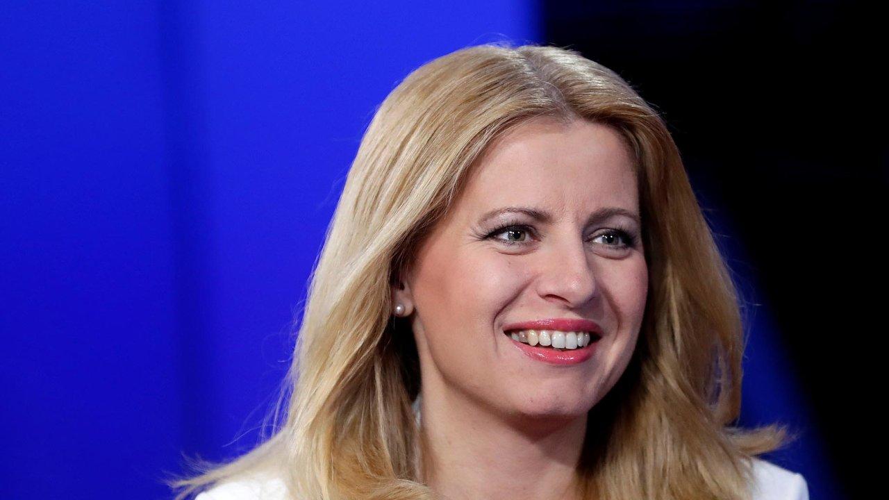 Slovenská prezidentka Zuzana Čaputová