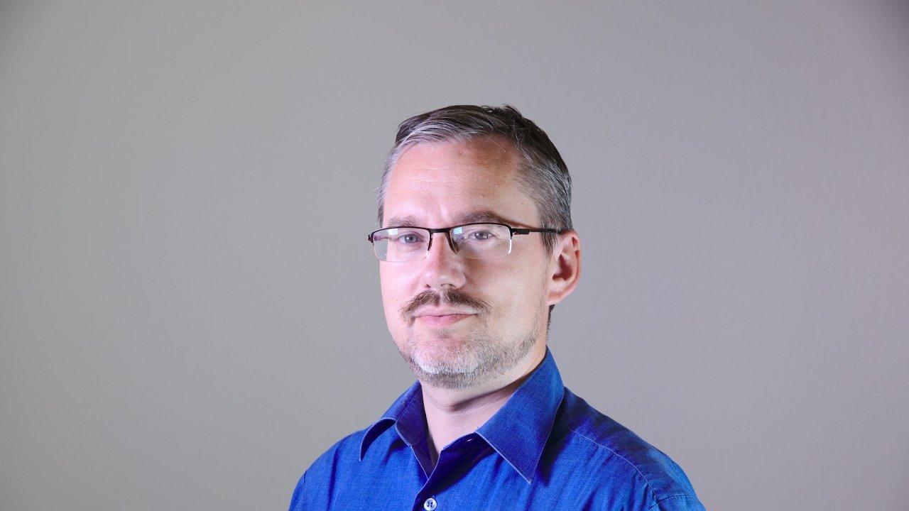 Radek Lapáček, projektový manažer pro oblast vesmíru z Výzkumného a zkušebního leteckého ústavu