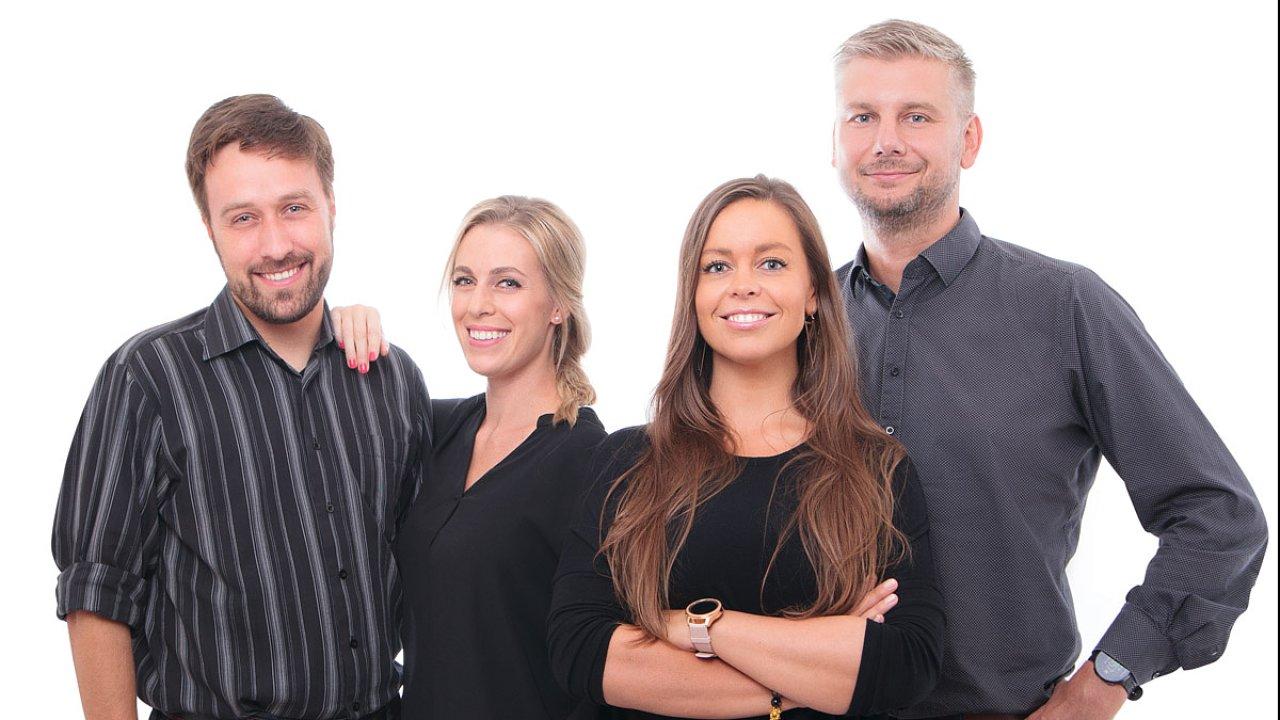 Milan Kubát, Kateřina Čížková a Vojtěch Šromovský posílili business tým agentury Taste