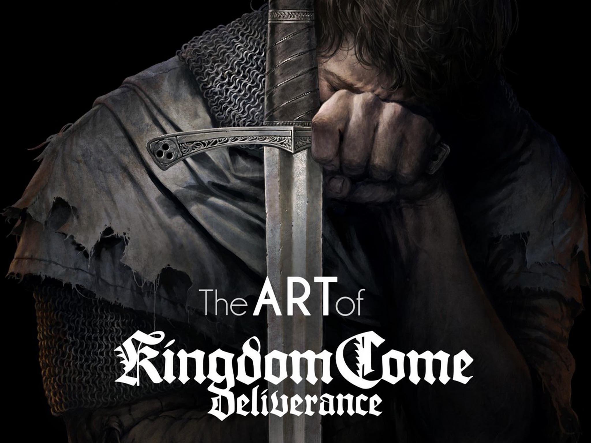 The Art of Kingdom Come Deliverance: doplněk úspěšné videohry vpodobě luxusní knihy nakřídovém papíru, která obsahuje stovky skic areprodukcí grafiky.