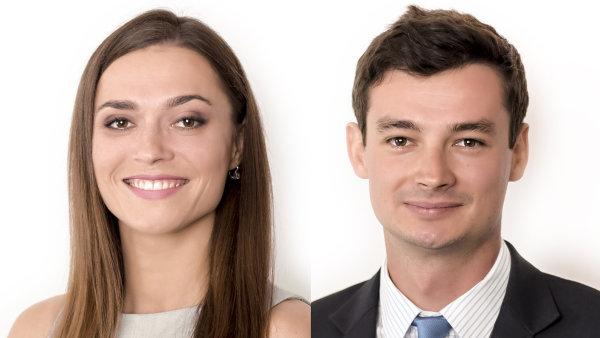 Nikola Neumanová a David Plevka, advokáti bpv BRAUN PARTNERS