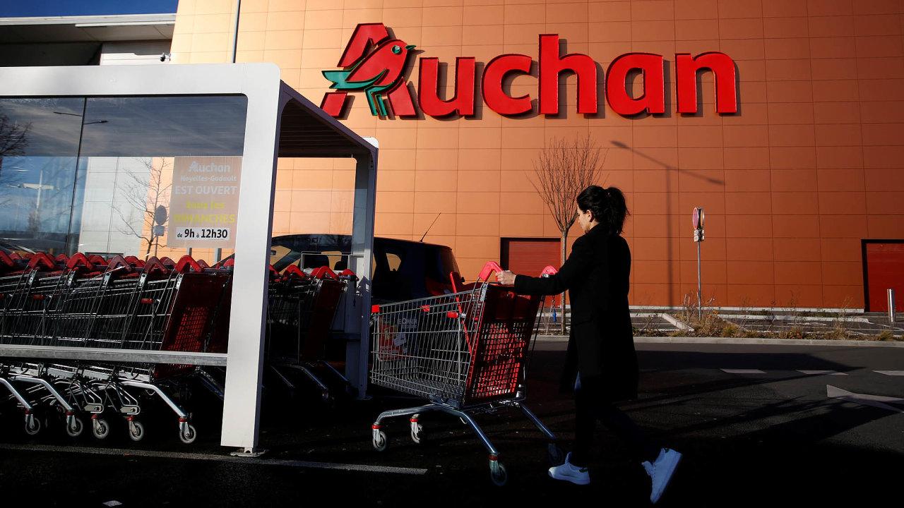 Maloobchodní řetězec Auchan je druhý největší ve Francii.