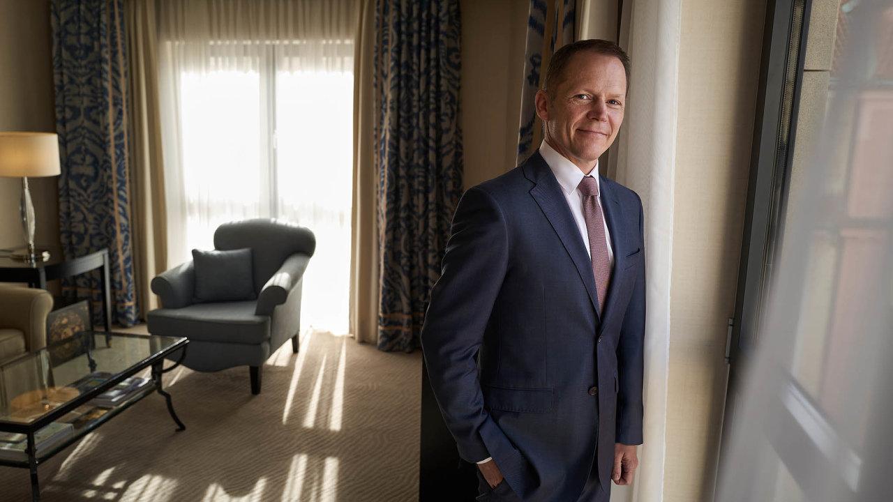 Generální ředitel pražského hotelu Four Seasons Martin Dell