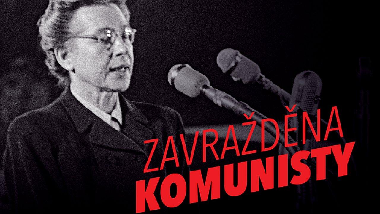 Gregorini: Heslo Zavražděna komunisty není zkratka, je to pravda. KSČM se neomluvila.