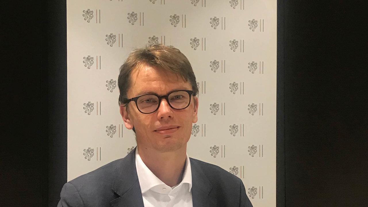 Lukáš Pimper, český cyber attaché pro EU aNATO.