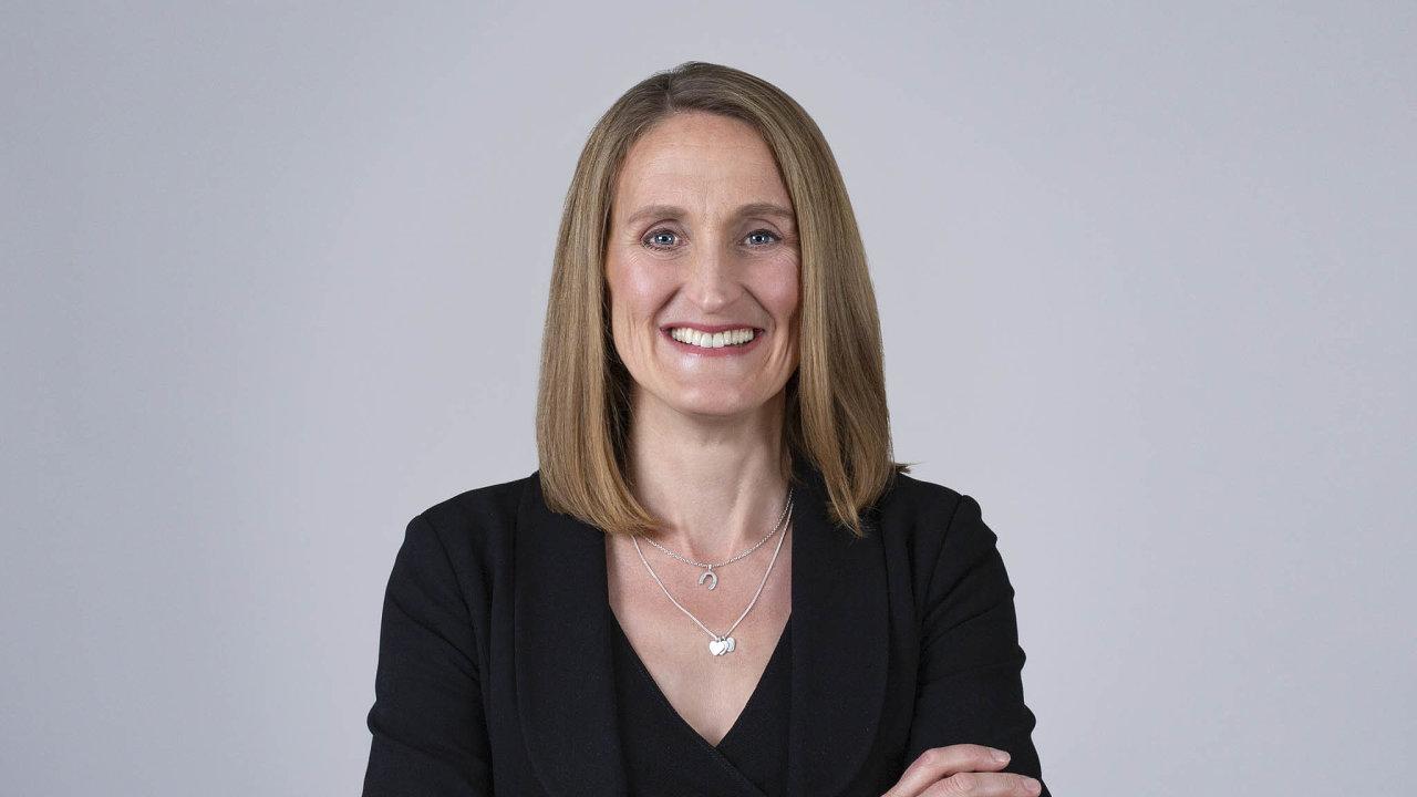 Emma McGuiganová, členka globálního vedení společnosti Accenture.