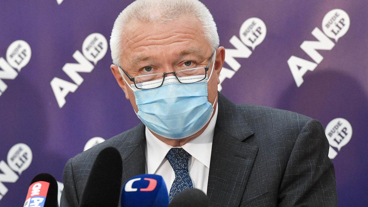 Dvojka hnutí ANO Jaroslav Faltýnek.