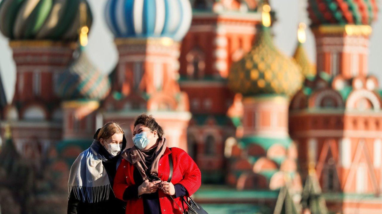Moskva - koronavirus