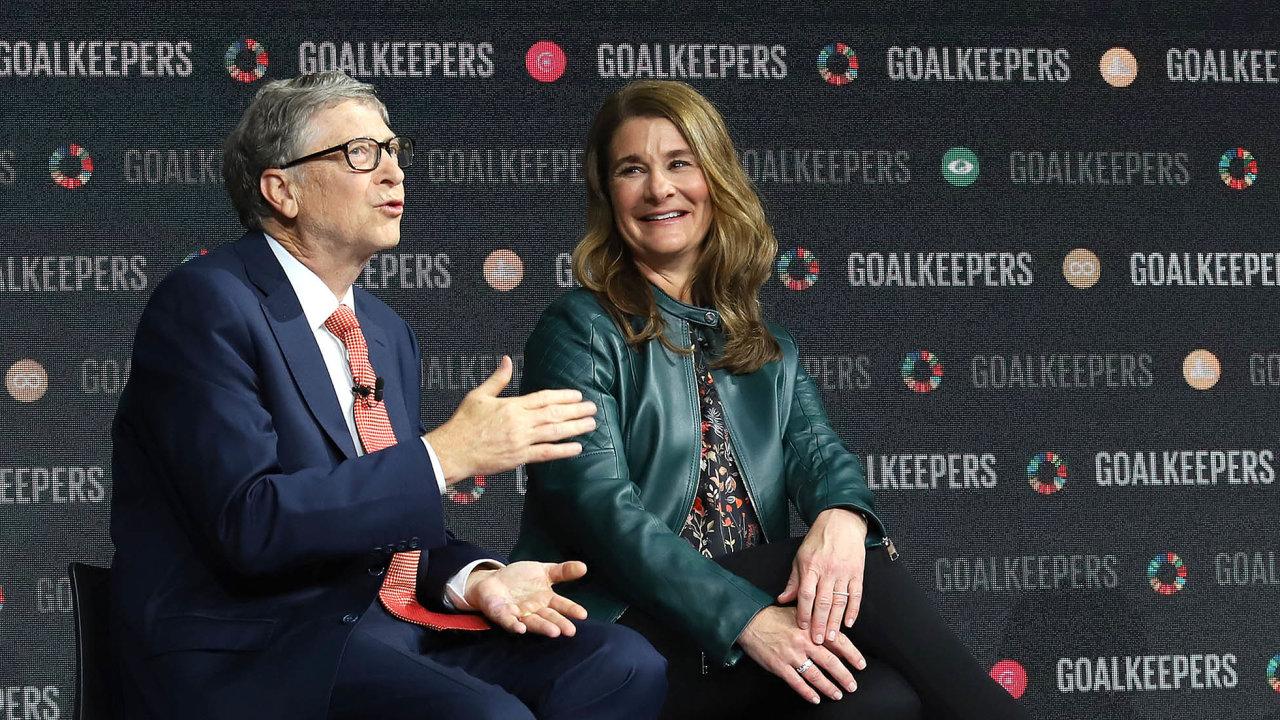 Nad rozvodem Gatesových se stále vznáší řada otazníků.