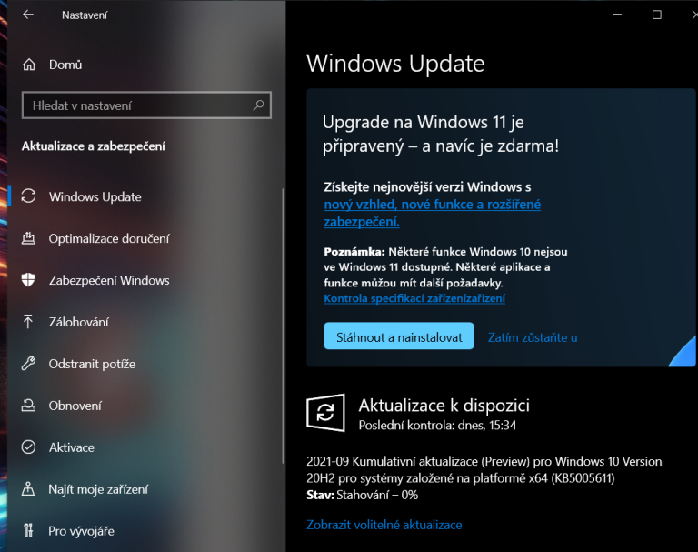 Stačí se na chvíli přidat k programu Windows Insider, a z Windows 11 lze snadno přejít na novou verzi ještě před oficiálním uvedením na trh