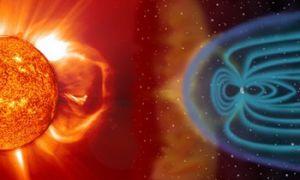 Proud částic způsobený slunečními bouřemi může mít vliv na zdraví astronautů.