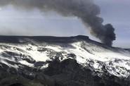 Nové záběry islandské sopky