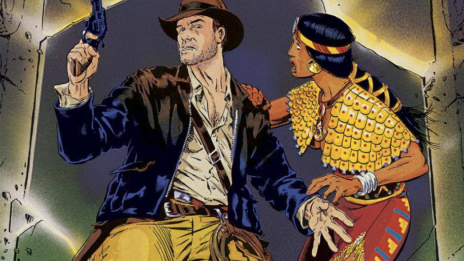 Ani v komiksovém Indiana Jonesovi nechybí dezert z opičích mozečků