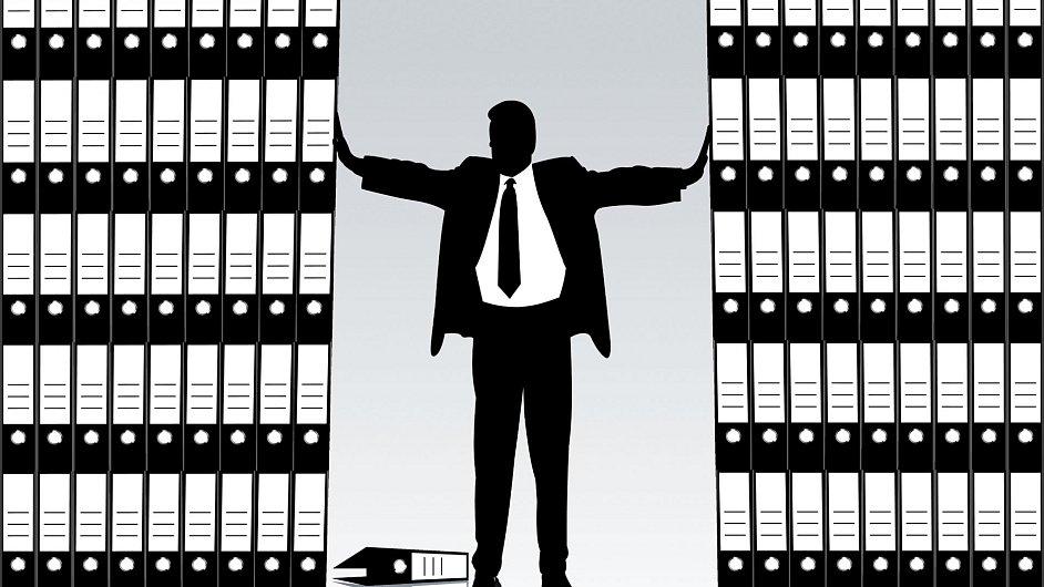 Úředník, ilustrační foto