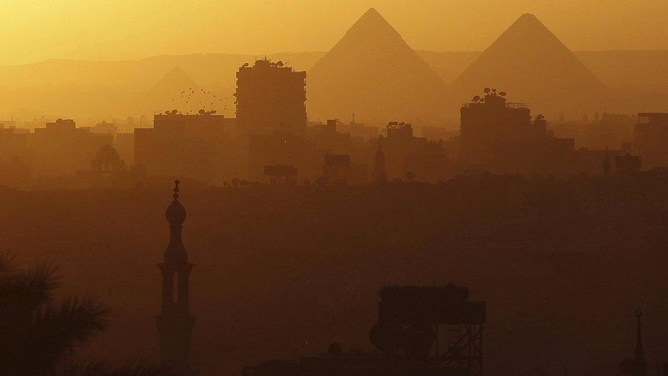 Pyramidy - ilustrační foto.