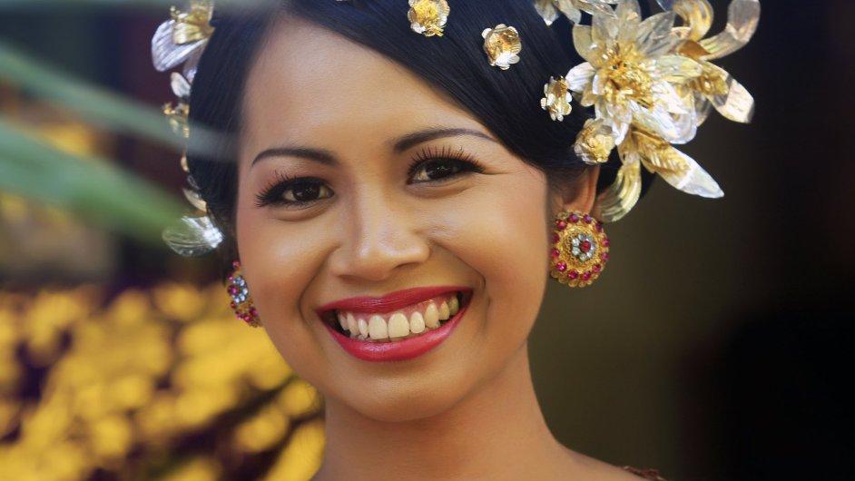 Veškerá zloba, chamtivost či žárlivost jdou podle Balijců do zubů. Čím ostřejší špičáky, tím horší.