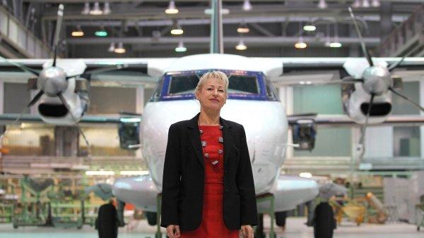 Ilona Plšková, generální ředitelka Aircraft Industries