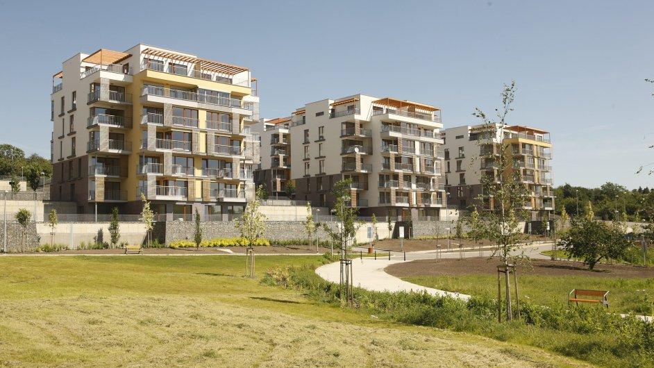 Rezidenční projekt Zelené město v Praze-Jarově