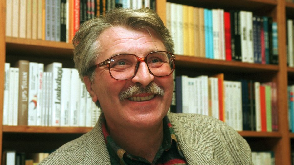Básník Antonín Brousek