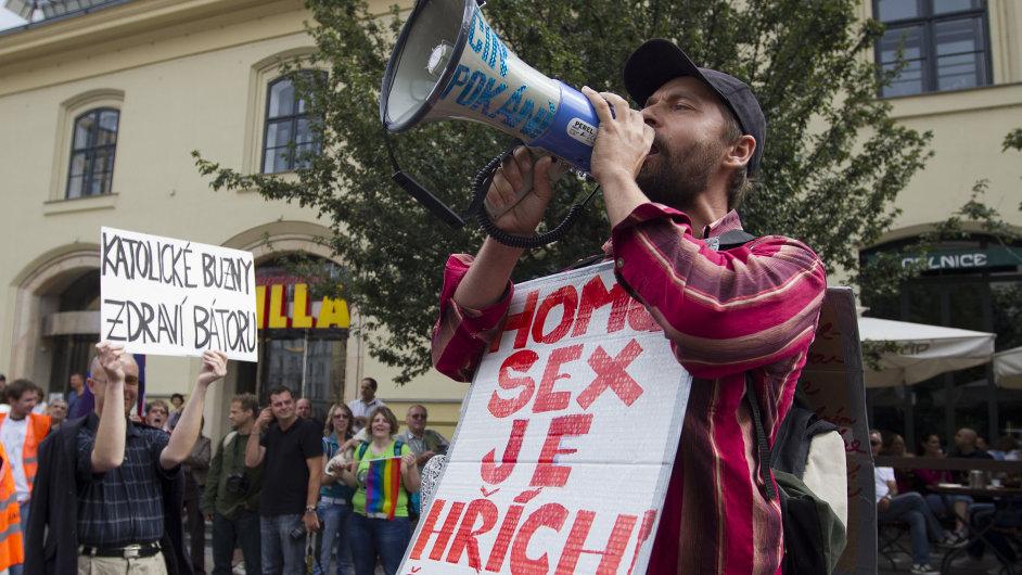 Pochod homosexuálů Prague Pride