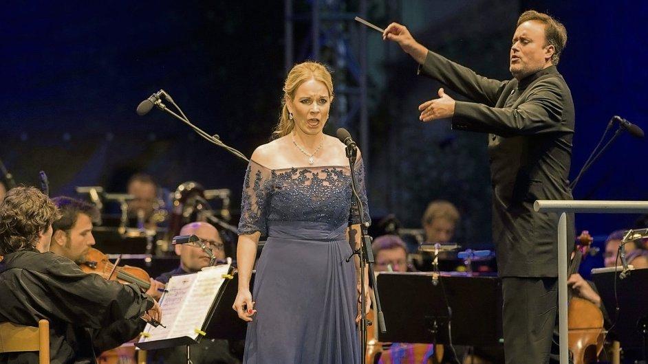 Festival v Českém Krumlově letos zahájila operní hvězda Elina Garanča.