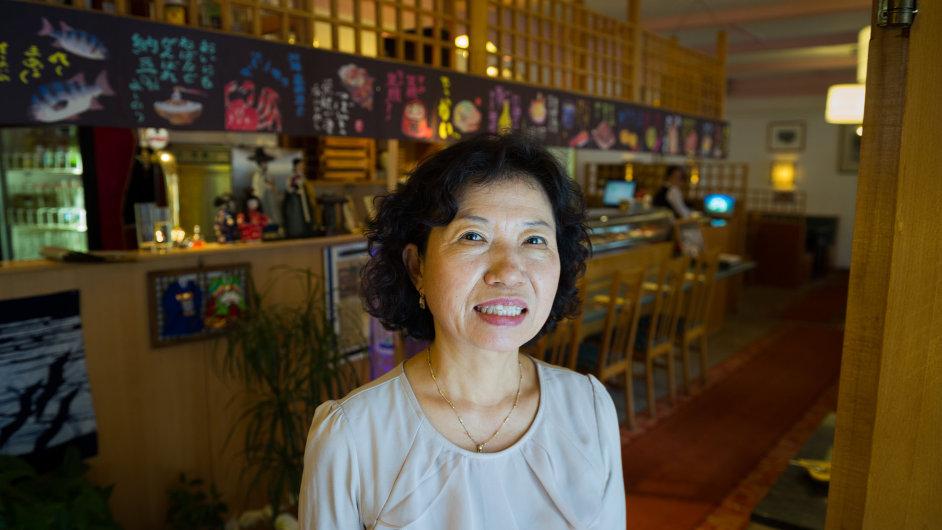 Chung Jong OK před 12 lety otevřela v Praze první korejskou restauraci, úspěšná je dodnes. Bez českých zaměstnanců bych to nedokázala, říká.
