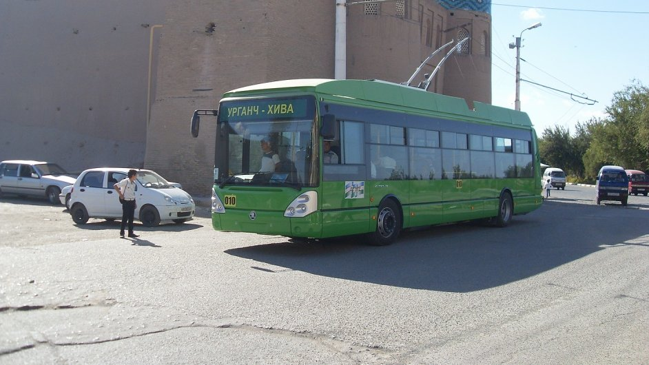 Plzeňský trolejbus v Uzbekistánu