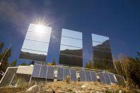 Zrcadla nad norským městem Rjukan