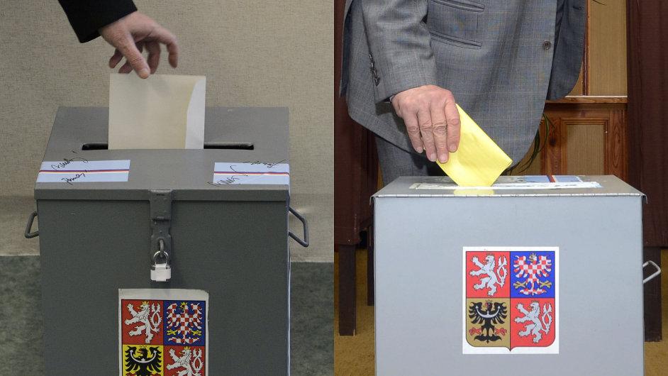 Aby byl hlas platný, musí být lístek vložen do obálky
