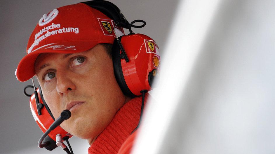 Michael Schumacher jako pilot Ferrari