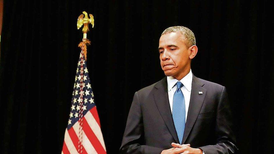 Americký prezident Barack Obama - ilustrační foto