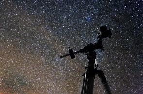 Na Manětínsku je tma jako v pytli, ve které se krásně pozoruje hvězdná obloha