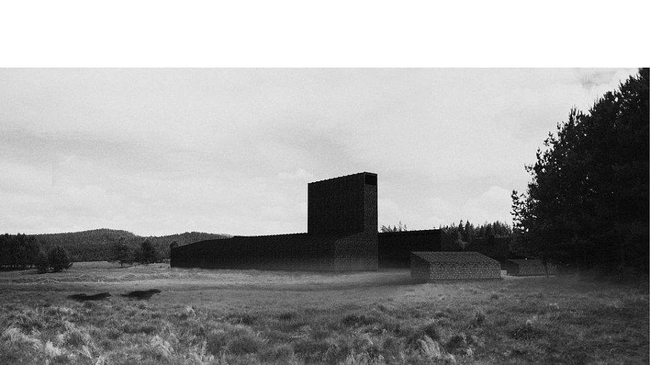 Vizualizace architektonického projektu Šumava