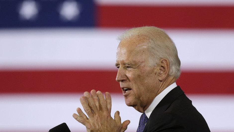 Viceprezident USA Joe Biden: S Bohuslavem Sobotkou se setká druhý nejvýše postavený činitel USA.