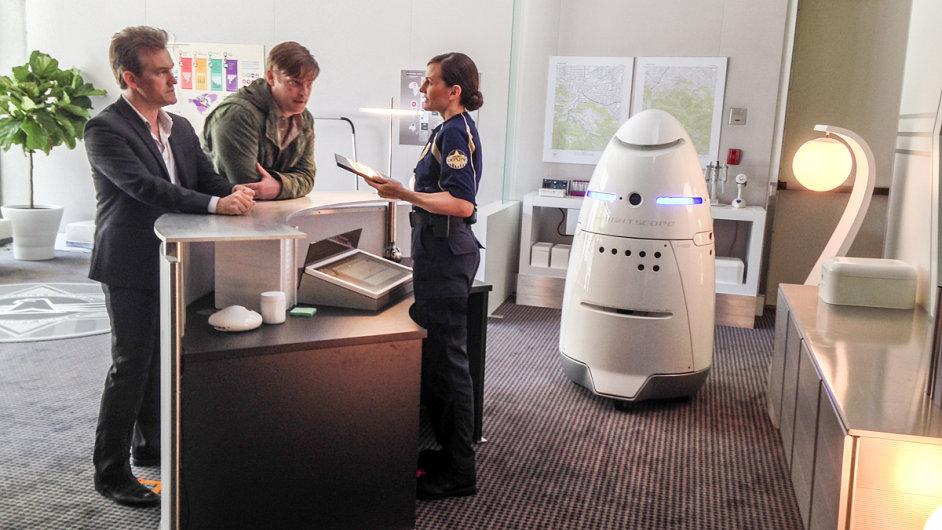 Bezpečnostní robot Knightscope K5