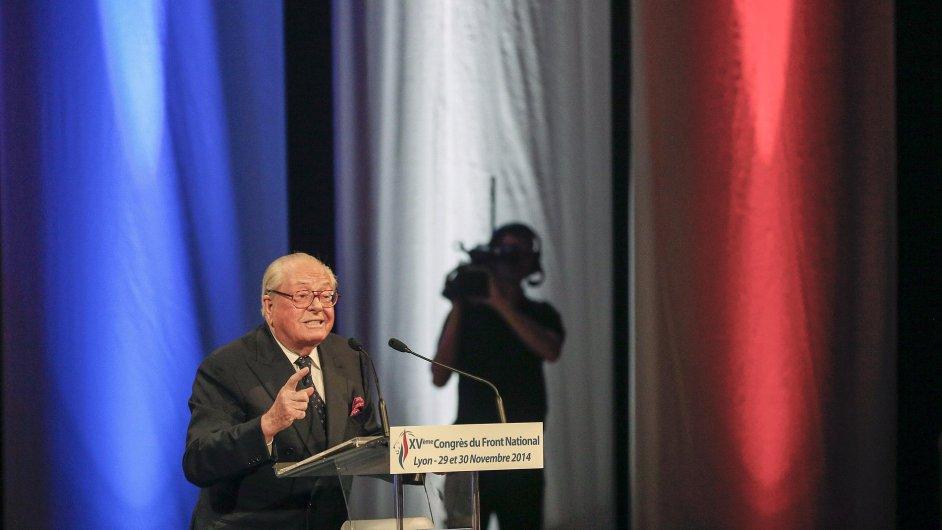 Bývalý lídr francouzské Národní fronty Jean-Marie Le Pen (ilustrační foto)