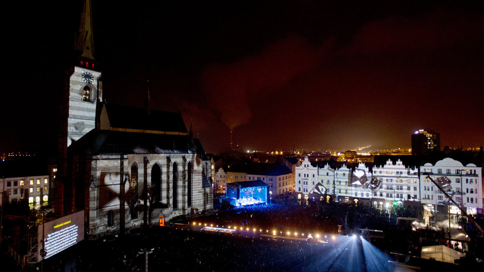 Na plzeňském náměstí Republiky byl 17. ledna slavnostně zahájen projekt Evropského hlavního města kultury. Součástí zahajovací show byl největší videomapping v ČR.