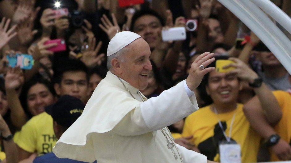 Papež František na návštěvě Filipín