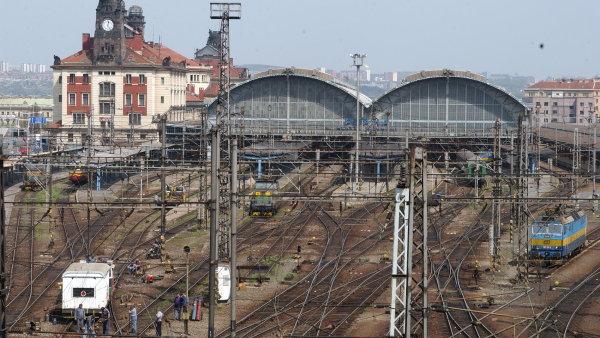 Pražské hlavní nádraží.