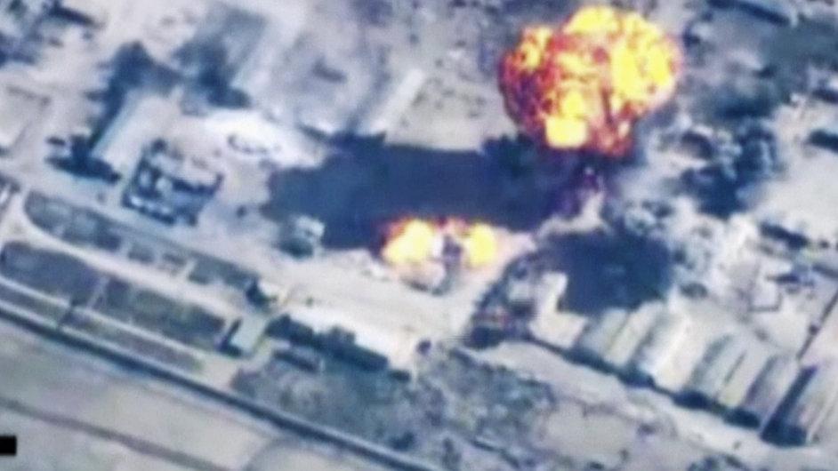Útok jordánského letectva na cíle Islámského státu