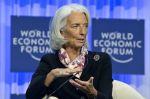 """Podle šéfka MMF Christine Lagardeové hrozí, že se slabý růst stane """"novou realitou""""."""