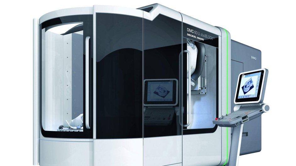 Společnost ALFA výroba jednoúčelových strojů se zabývá výrobou montážních poloautomatů a automatů, na fotografii Deckel Maho 60.
