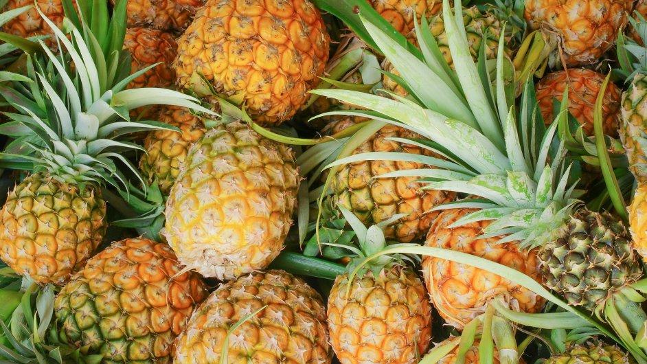 Společnost Ananas Anam vyrábí z ananasové látky boty, kabelky nebo třeba čalounění křesel.