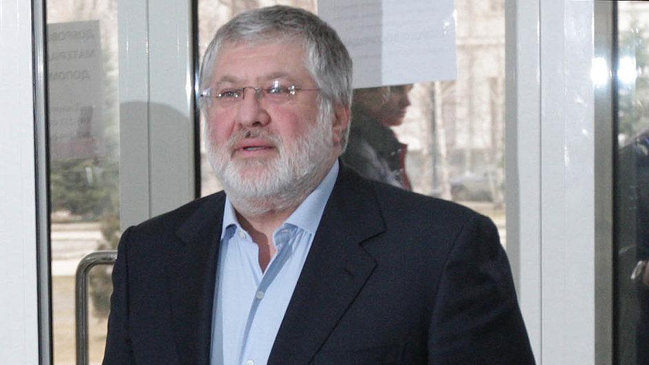 Obchodník i politik: Ještě nedávno byl Kolomojský spojencem ukrajinského prezidenta Porošenka.