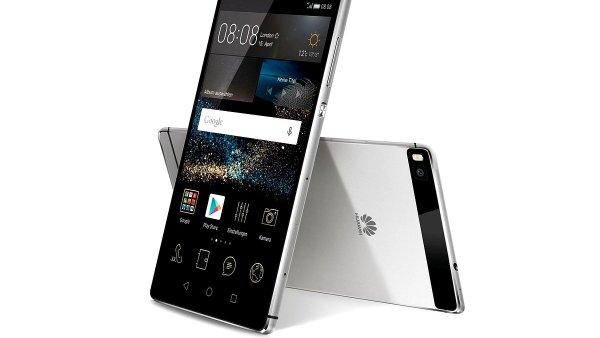 Telefon Huawei P8 slibuje lep�� fotky ne� z iPhonu i del�� v�dr�