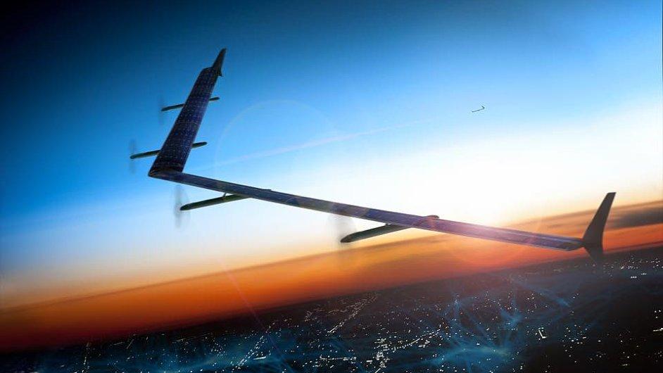 Bezpilotní letoun vyvinutý společností Facebook pro laserové šíření internetu.