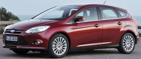 The new Ford Focus is packed with class-leading levels of convenience and driver assistance technologies which are proving popular with customers in Europe. (07/26/2011)