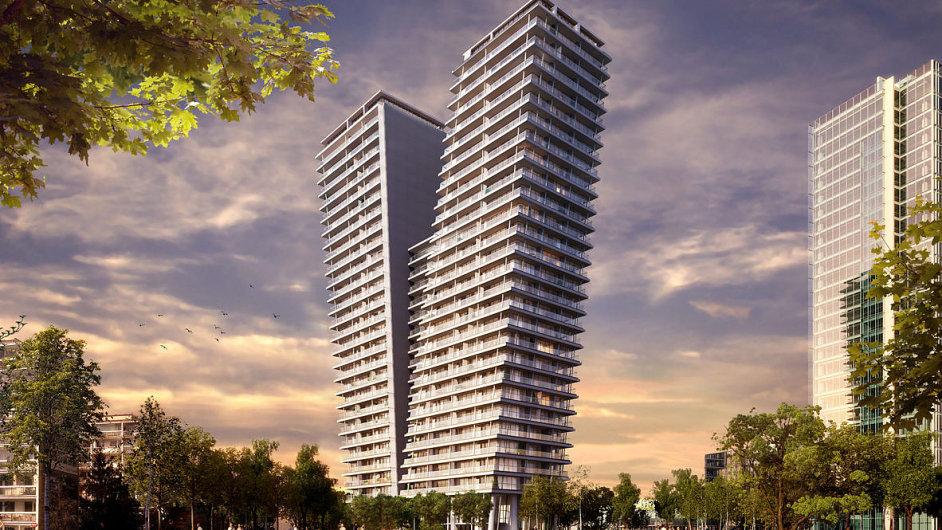 Na Pankráci vyroste nejvyšší bytový dům v republice - Ilustrační obrázek.